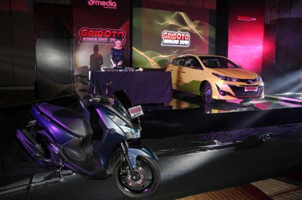 Yaris dan Lexi jadi Mobil dan Motor Terbaik Versi GridOto Award