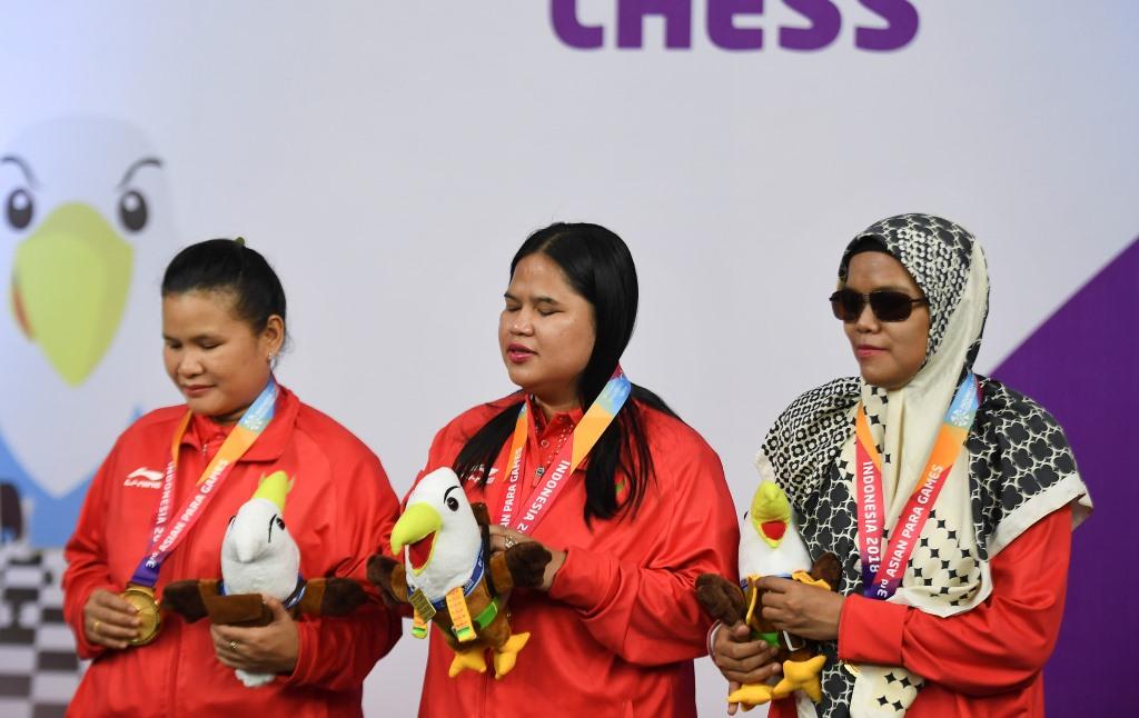 Indonesia Tempel Jepang di Klasemen Medali Asian Para Games 2018
