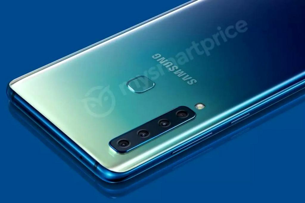 Beredar, Gambar Resmi Ponsel Empat Kamera Samsung