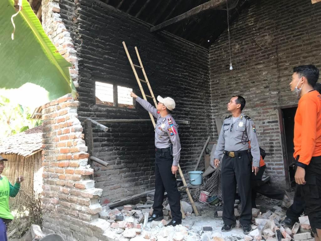 Sejumlah Rumah di Jember Rusak Akibat Gempa