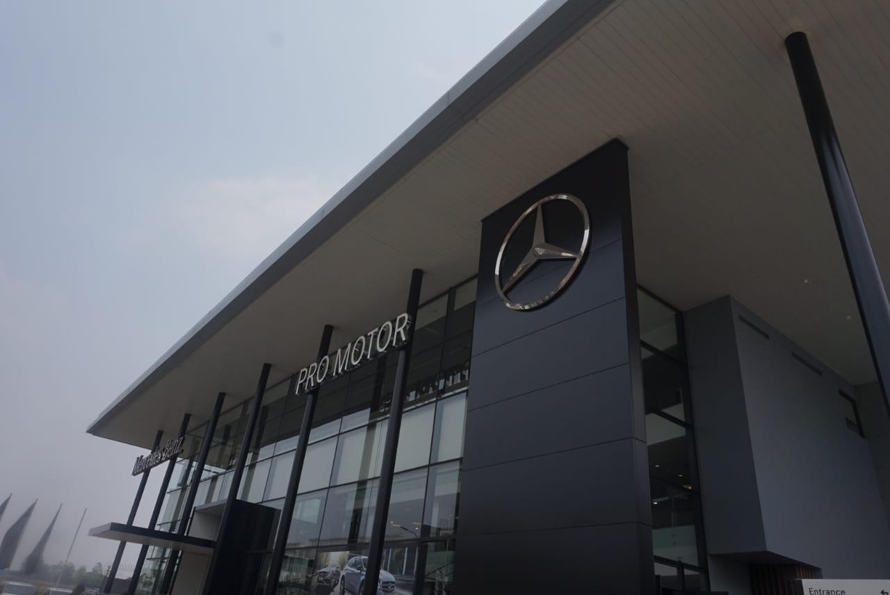 Pro Motor Optimis, Potensi Mercedes-Benz Besar di Indonesia