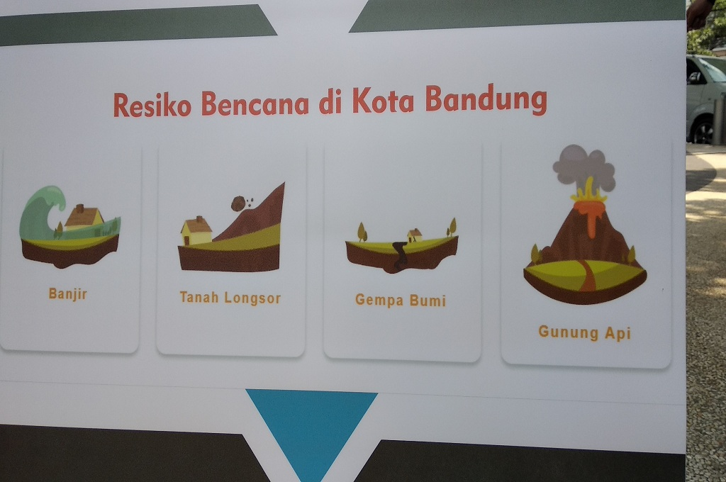 Sepuluh Kecamatan di Kota Bandung Rawan Ambles