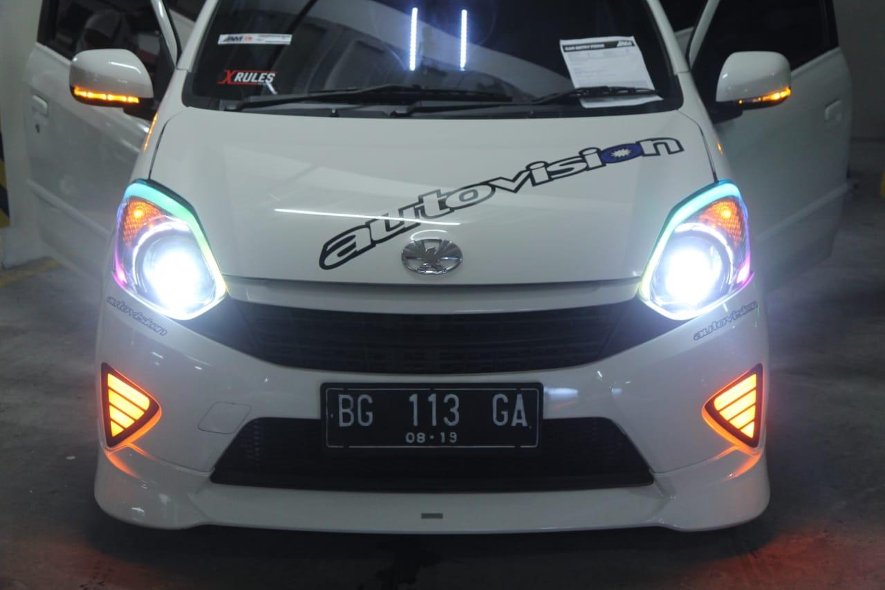 Efek Mata Belo' Toyota Yaris Wong Kito Galo