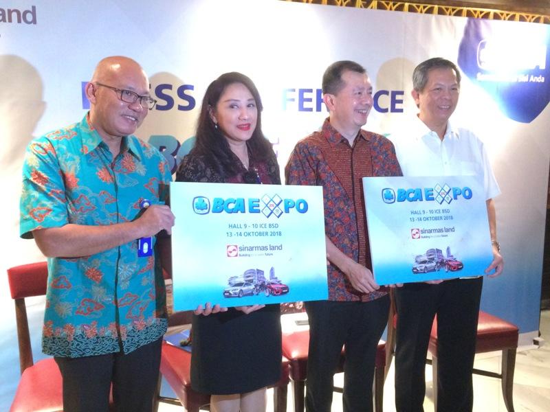 BCA Expo 2018 Bidik Transaksi Rp1,22 Triliun