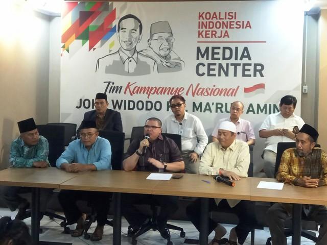 Ratusan Tokoh Eks 212 Dukung Jokowi-Ma'ruf