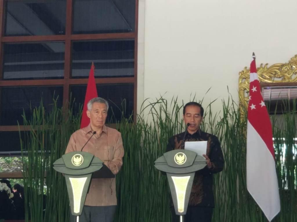 Jokowi-Lee Sepakat Jadikan Batam Jembatan Digital