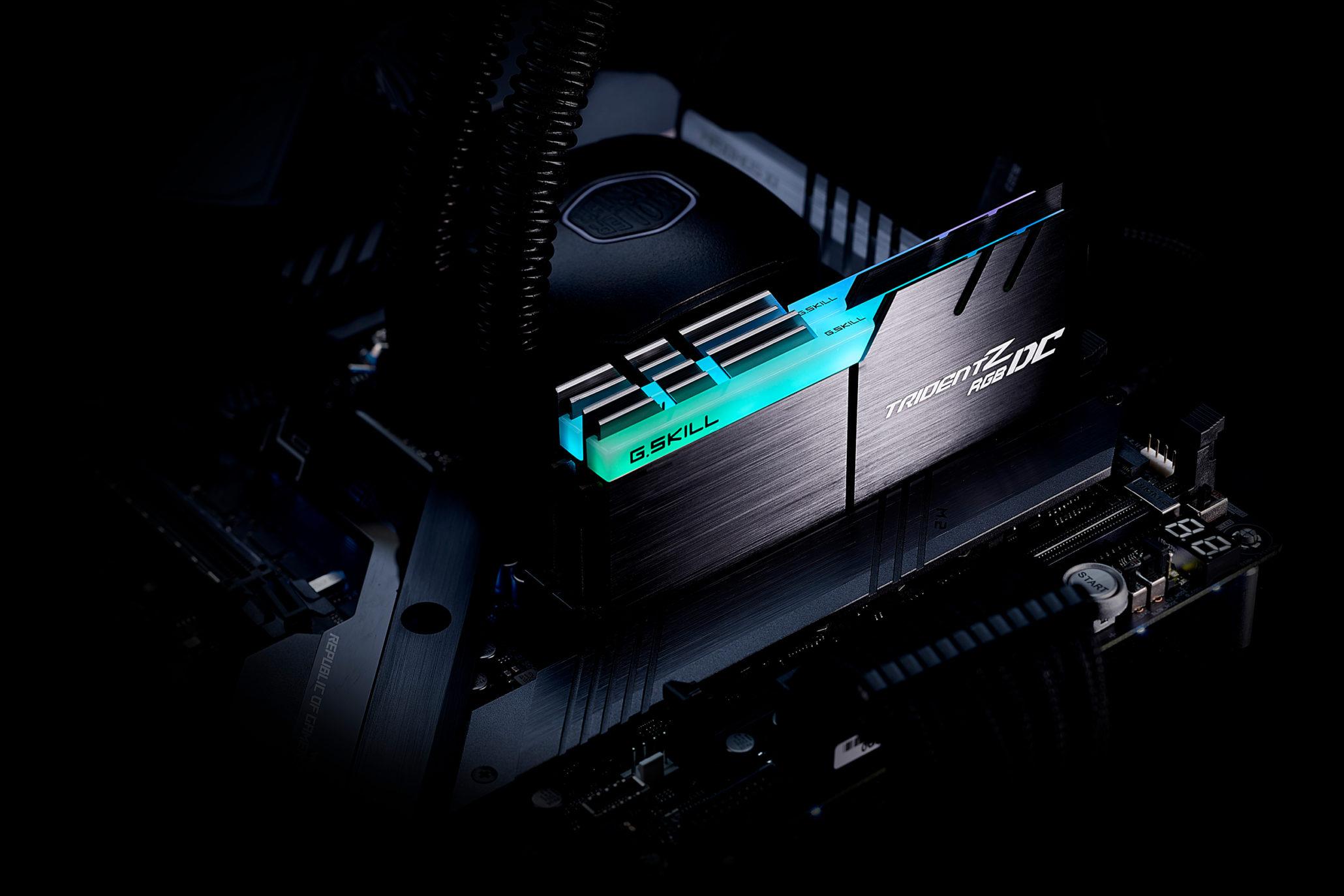 G.Skill Trident Z RGB DC Dongkrak Kapasitas RAM 32GB