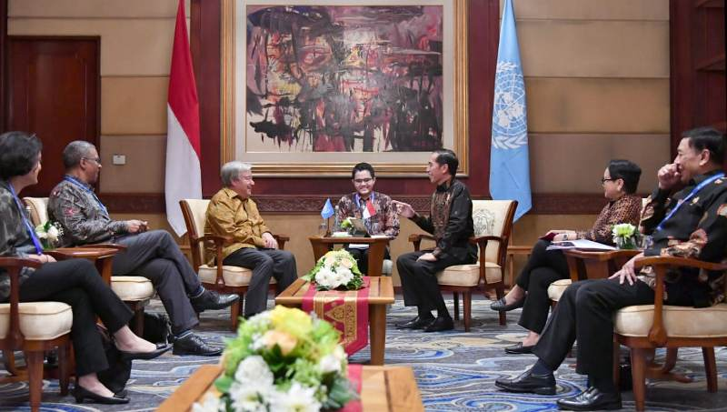 Sekjen PBB Puji Penanganan Bencana Sulteng dan Lombok