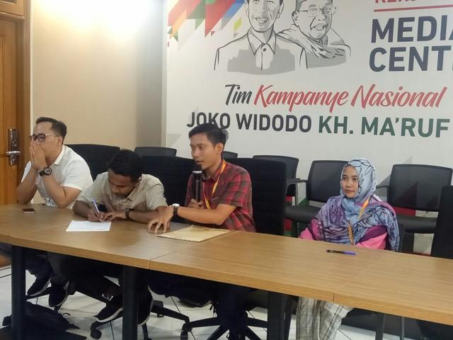 Sekelompok Mahasiswa Deklarasi Dukung Jokowi-Ma'ruf