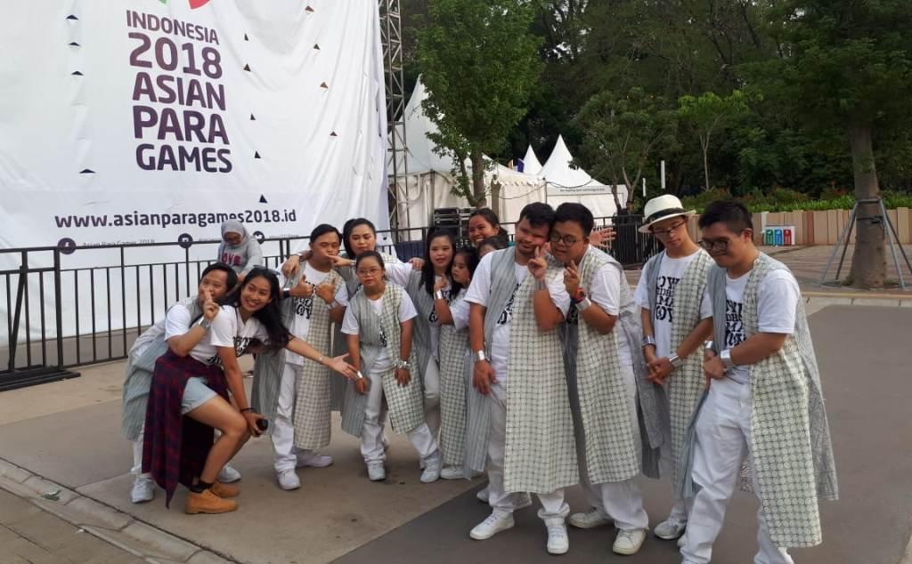 Komunitas G-Star Ramaikan Asian Para Games 2018