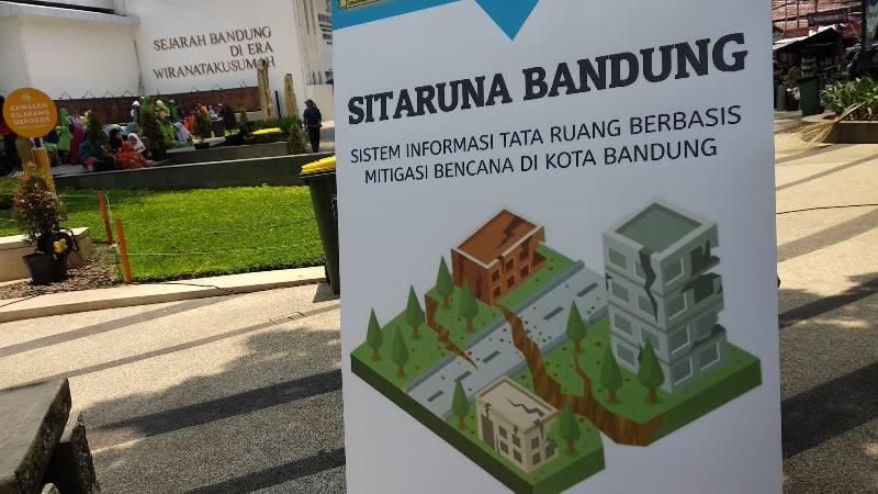 Sitaruna Bandung, Sistem Tata Ruang Antisipasi Bencana
