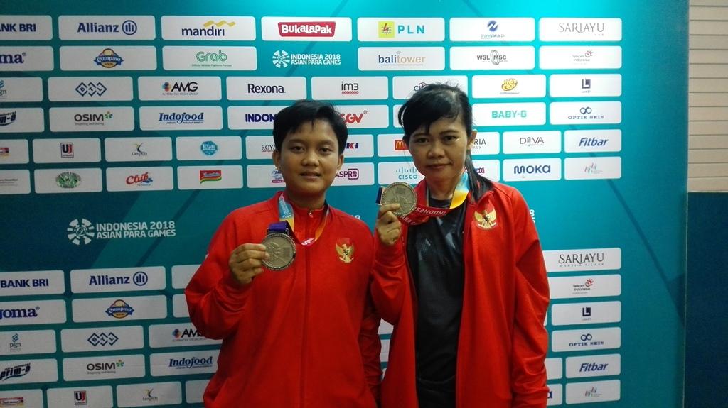 Para Tenis Meja Indonesia Persembahkan Medali Perak