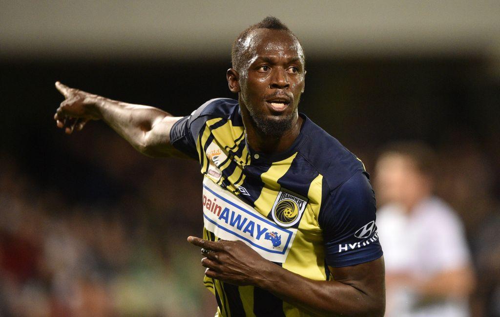 Debut Manis Usain Bolt di Sepak Bola