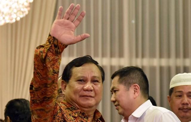 Prabowo Membantah Jiplak Slogan Trump