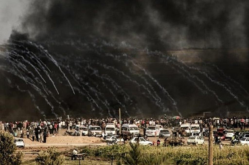 Israel Tembak Mati Tujuh Orang di Perbatasan Gaza