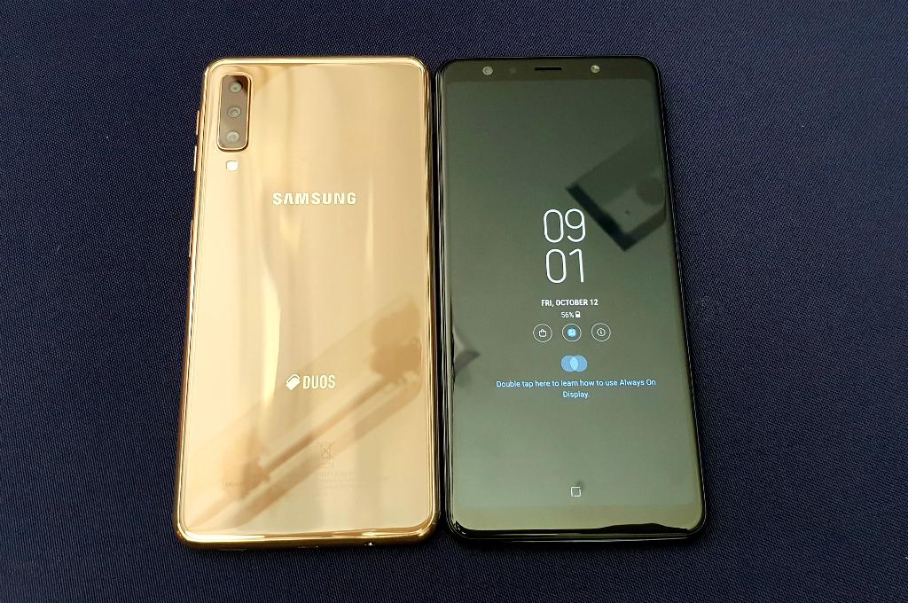 Samsung Galaxy A7 (2018) Jadi Penerus Tiga Ponsel