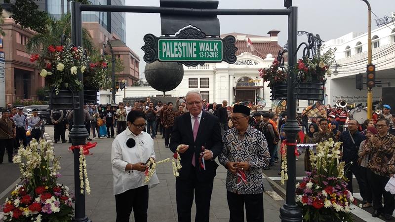 Jalan Palestina Hadir di Bandung