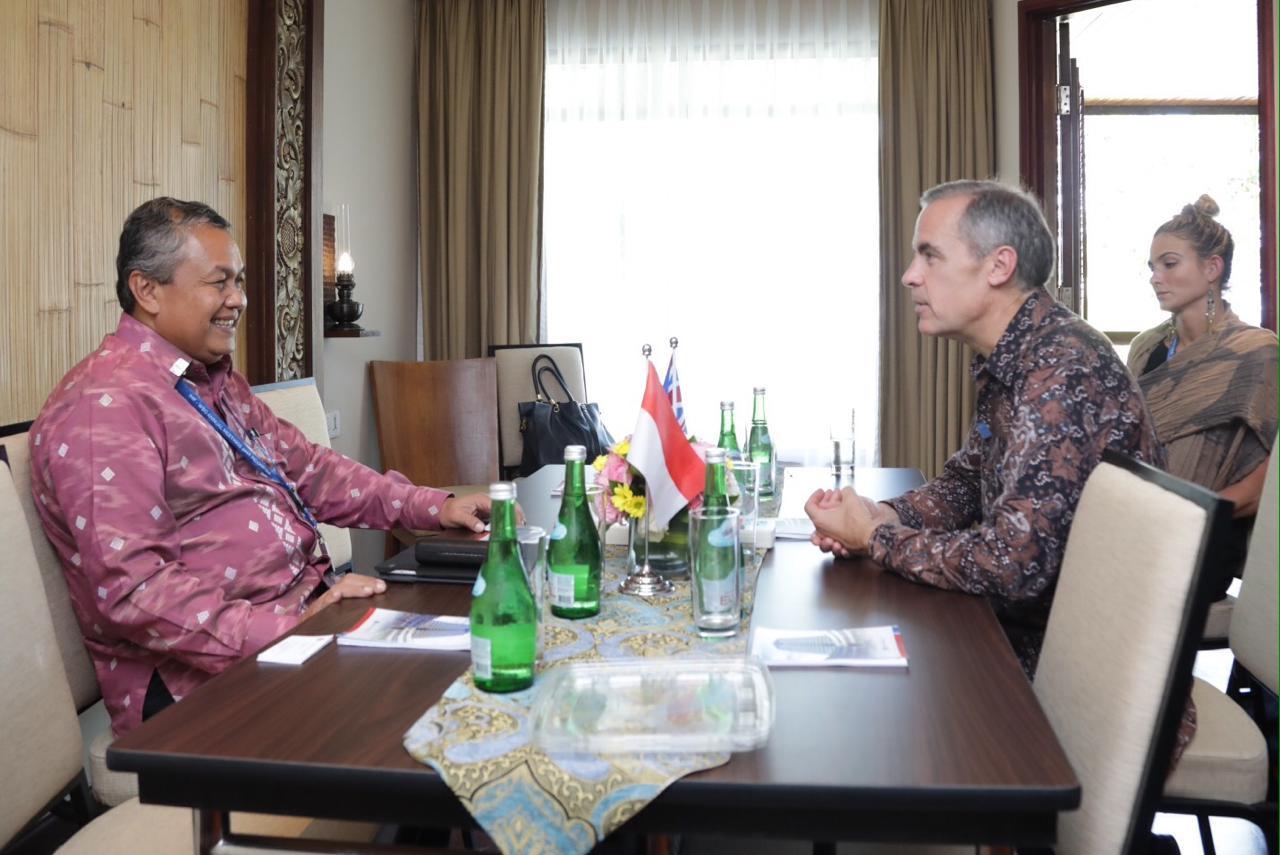 Bank Indonesia dan Bank Inggris Bahas Infrastruktur Sistem Keuangan