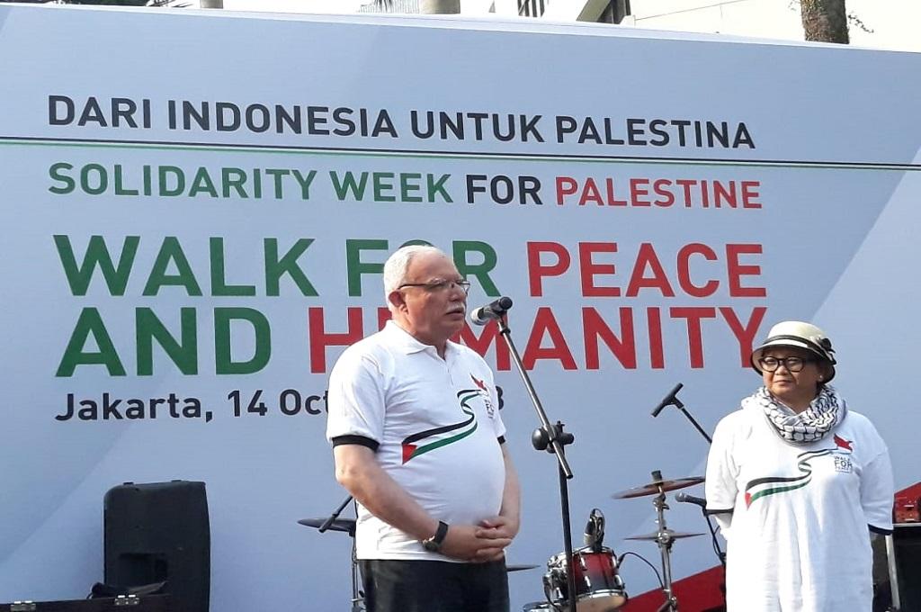 Menlu Palestina: Dukungan Indonesia yang Terhebat