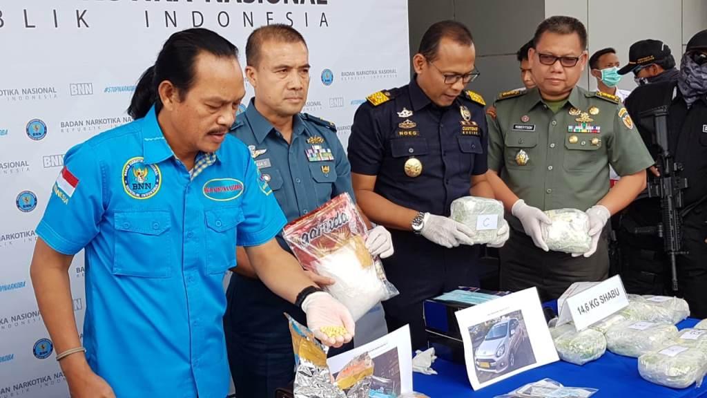 Dua Tentara Penyelundup Ekstasi Gunakan Modus Baru