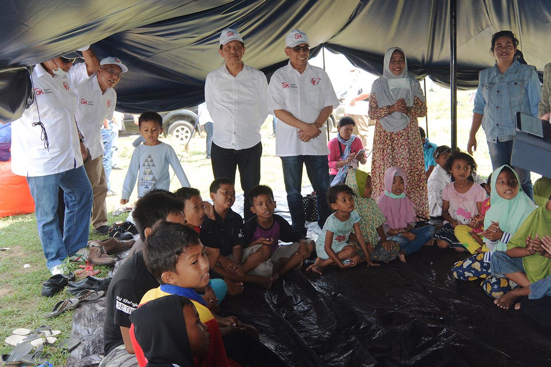 OJK Siap Bangun 1000 Huntara untuk Korban Gempa Palu