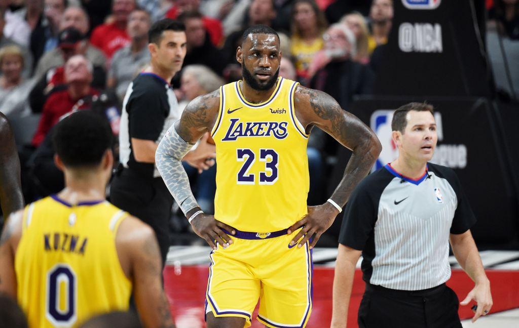 Debut LeBron James Tercoreng