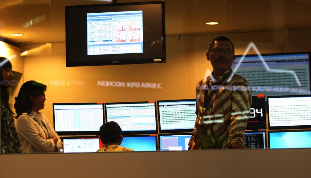 Kapitalisasi Pasar BEI Sentuh Rp6.599 Triliun