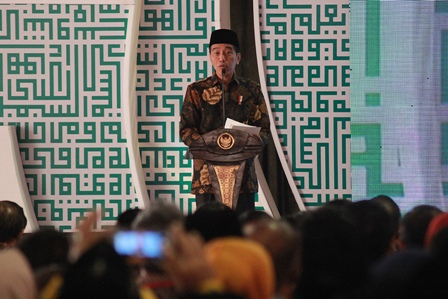Jokowi Berperan Besar pada Muslim Dunia