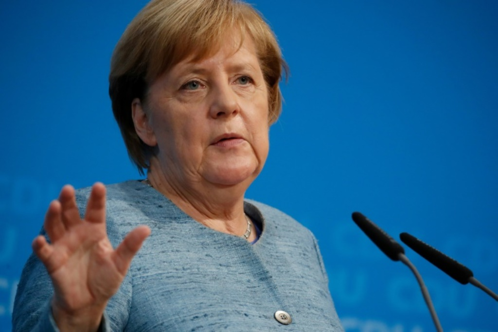 Merkel: Jerman Hentikan Ekspor Senjata ke Arab Saudi
