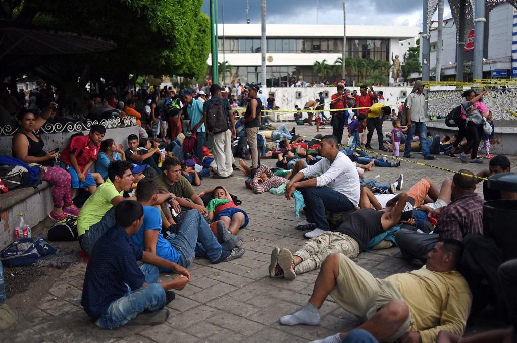 Trump Bertekad Hentikan Gelombang Imigran Honduras