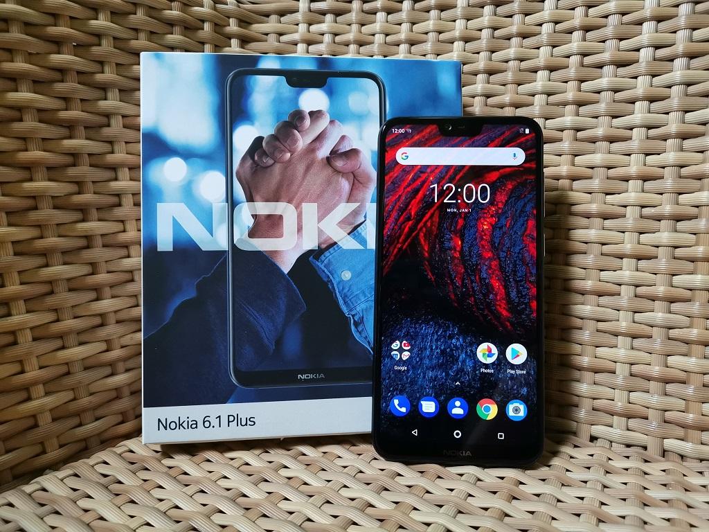 Begini Isi Kotak Nokia 6.1 Plus