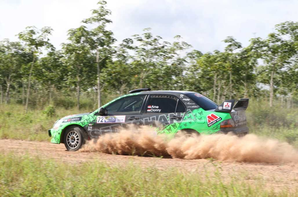 H Rahmat Juarai Rally of Perlis