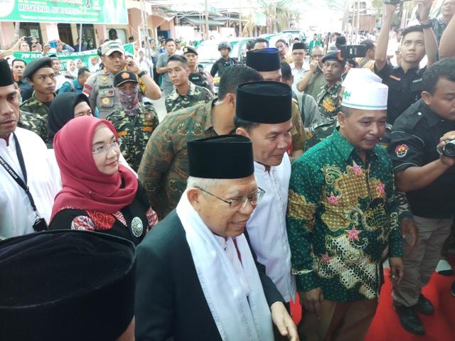 Jokowi is the Main Factor behind Santri Day: Ma'ruf