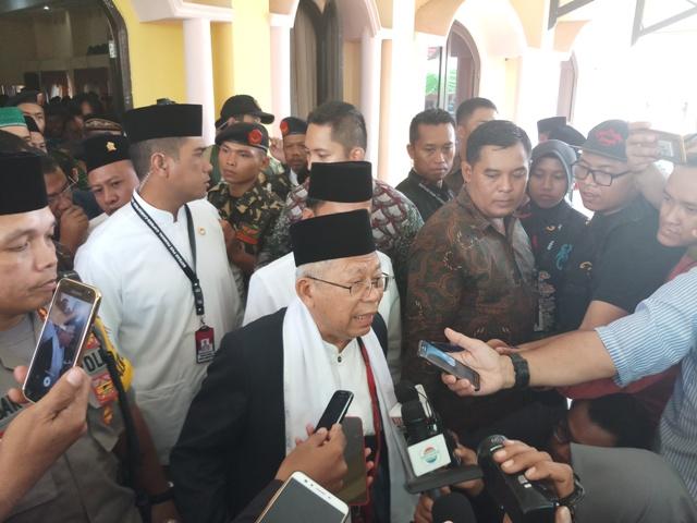 Maruf Amin: Jokowi Mencintai Santri