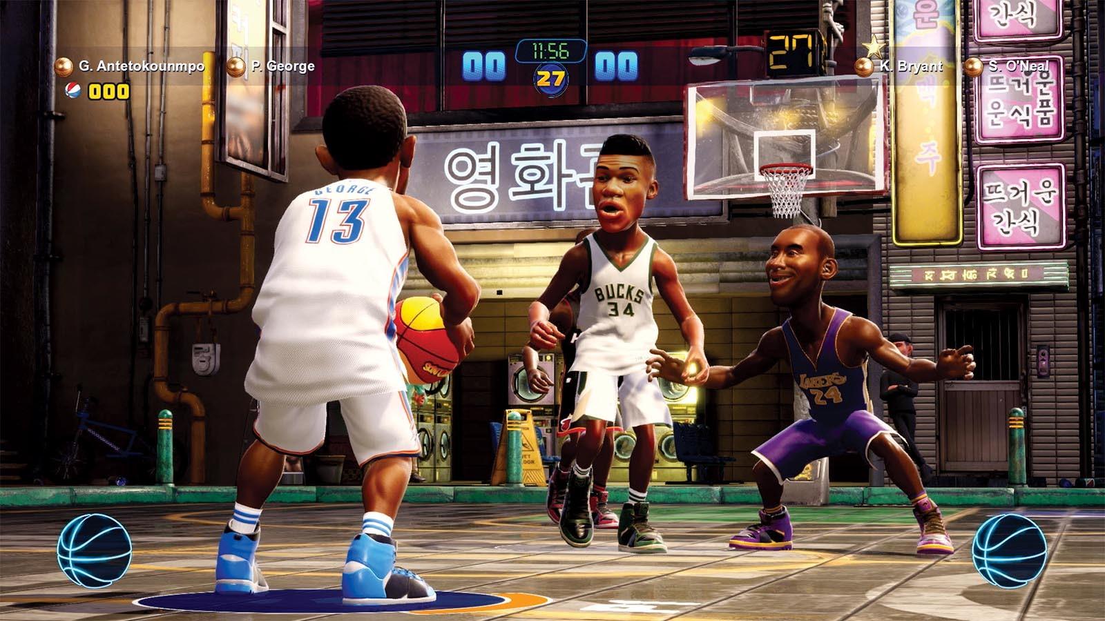 2K Bawa Game Basket Arcade NBA 2K Playgrounds 2