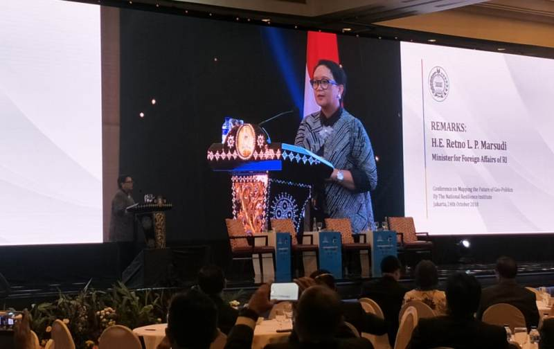 Indonesia Gunakan Indo-Pasifik Sebagai Geopolitik Kolaborasi