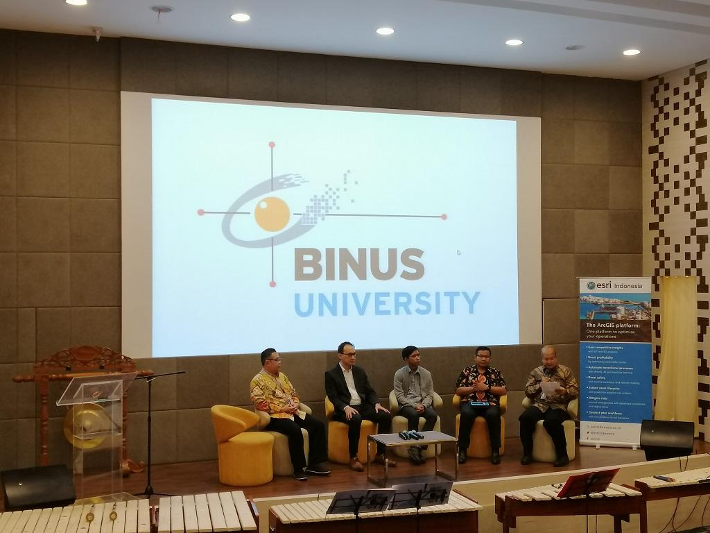 ESRI Indonesia dan Binus Gelar GIS Week, Kenalkan Sistem Informasi Geografis