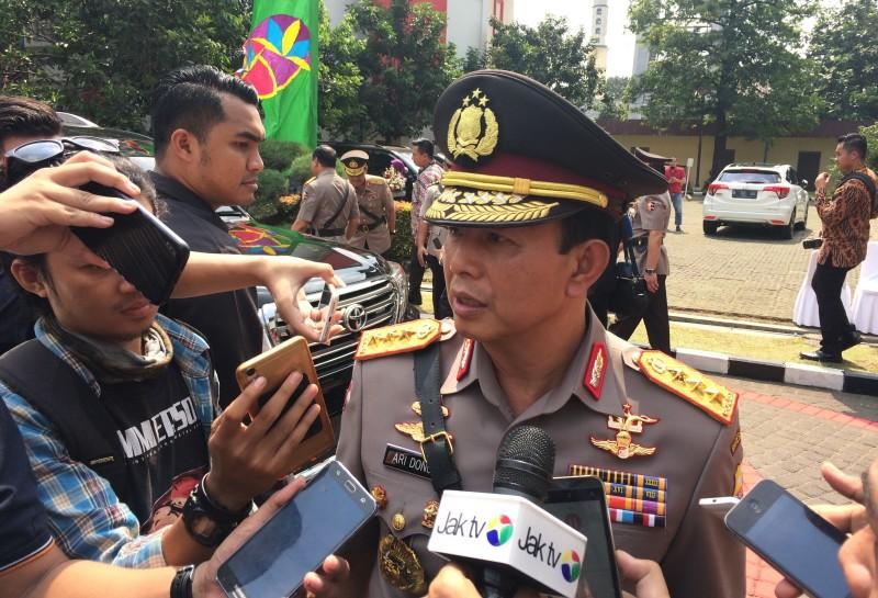 Polisi Dalami Niat Pembakaran Bendera HTI