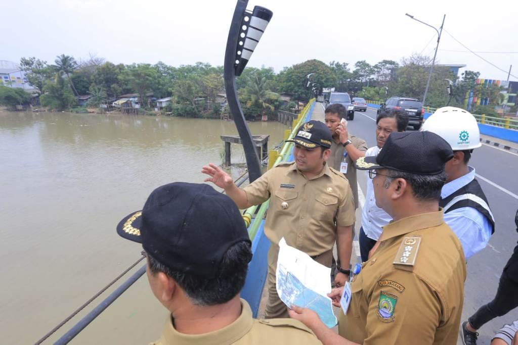 Proyek Pengendalian Banjir di Tangerang Dikebut