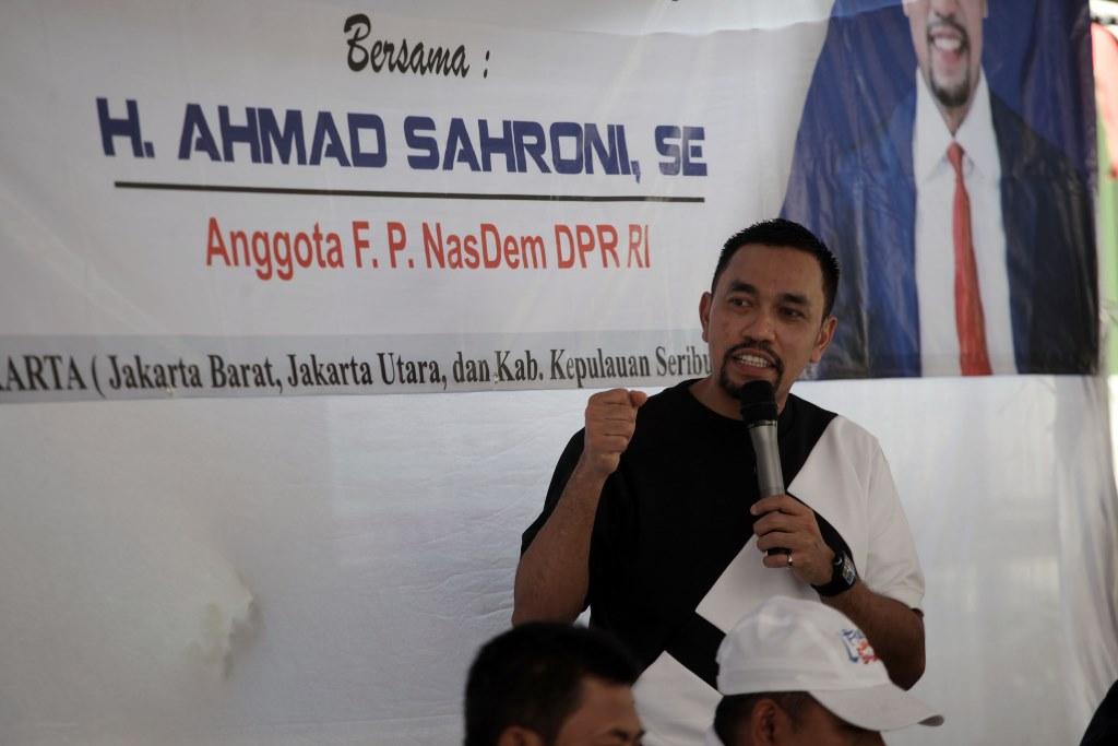 Ahmad Sahroni Yakin Lolos dari Dapil Neraka