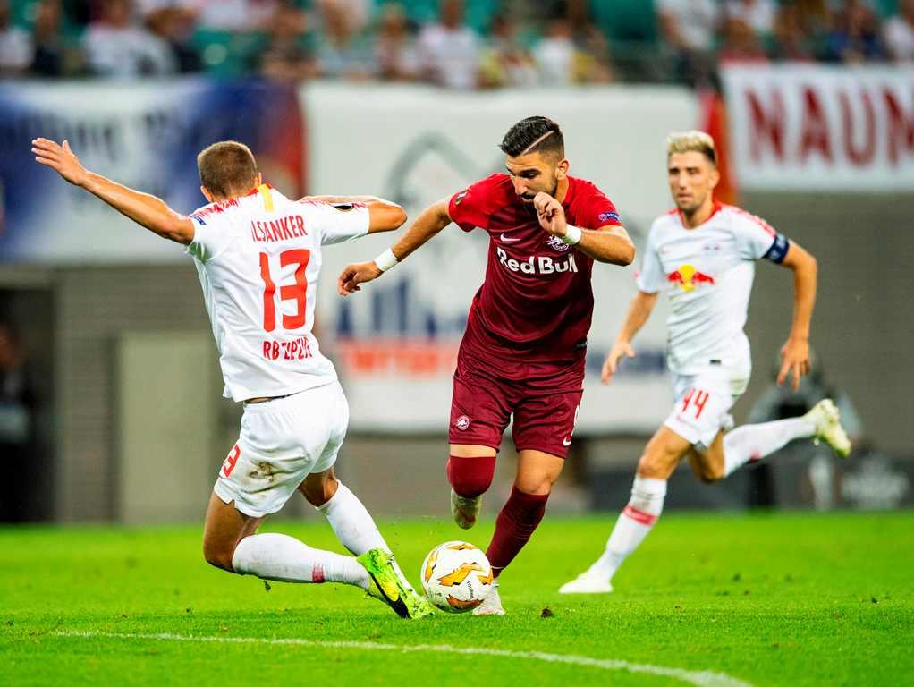 Penyerang RB Salzburg Pimpin Top Skorer Liga Europa 2018