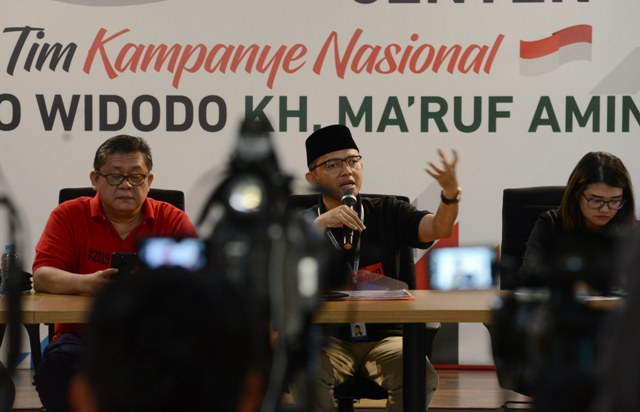 TKN Jokowi-Maruf Legawa Putusan Bawaslu