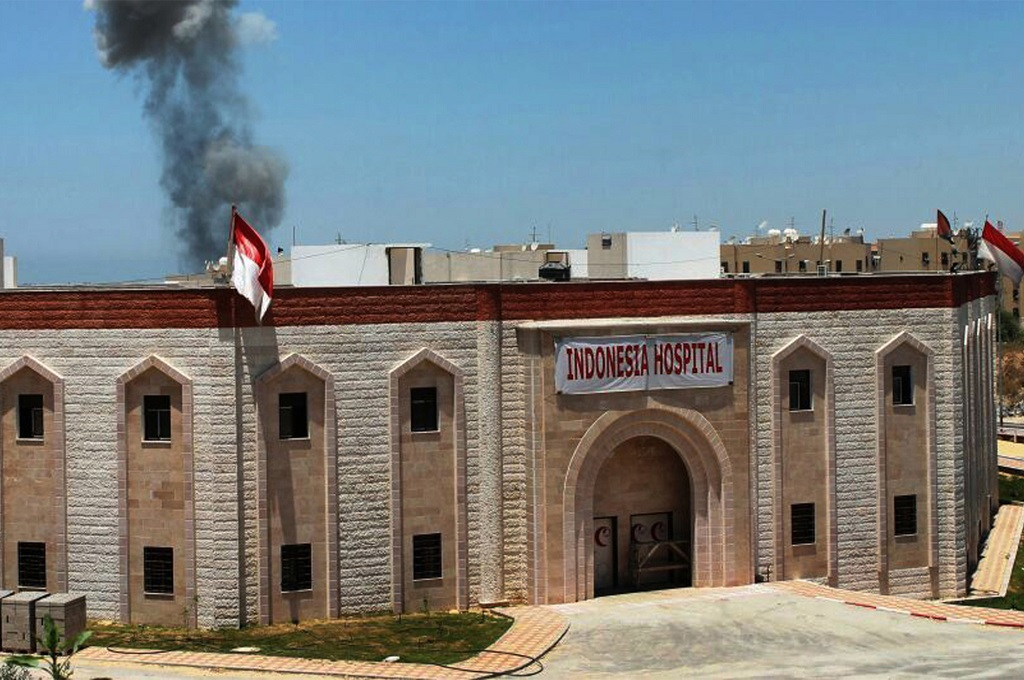 RS Indonesia di Gaza Terkena Imbas Serangan Udara
