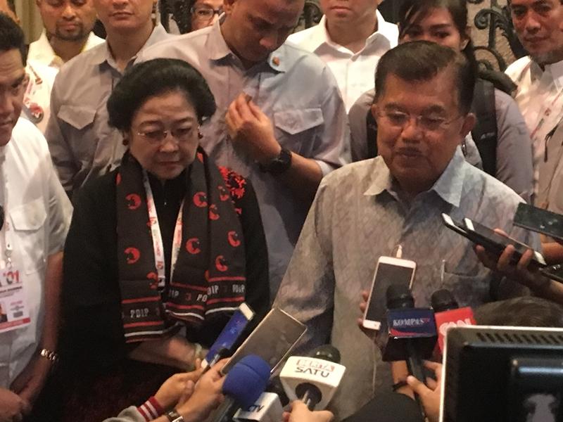 JK Harap Jokowi-Maruf Tak Terbuai Survei