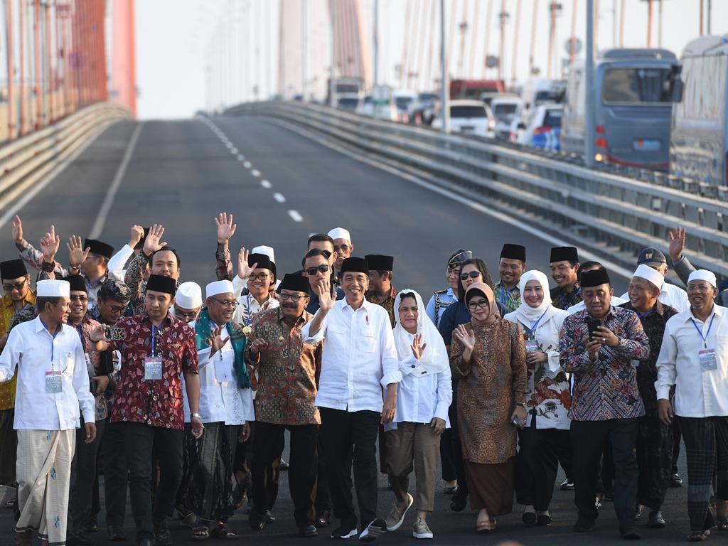 Dana Pemeliharaan Jembatan Suramadu dari APBN