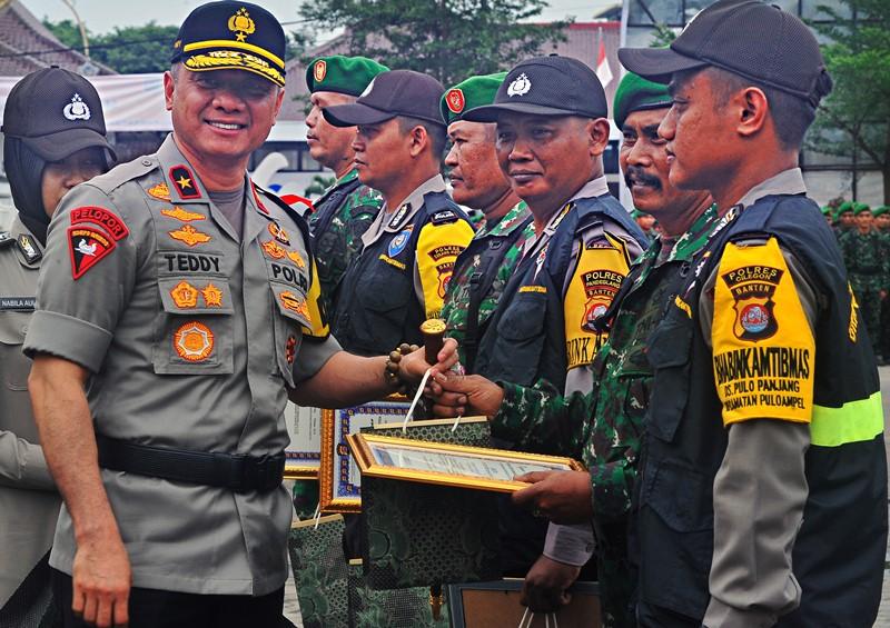 Kapolda Banten Pastikan Pembakaran Bendera HTI