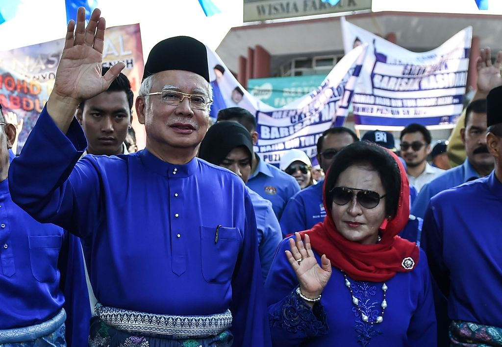 Gelar Kehormatan Najib Razak dan Istrinya Dicopot