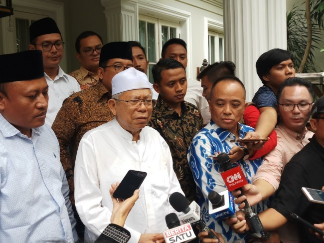 Mahathir Bikin Maruf Lebih Percaya Diri
