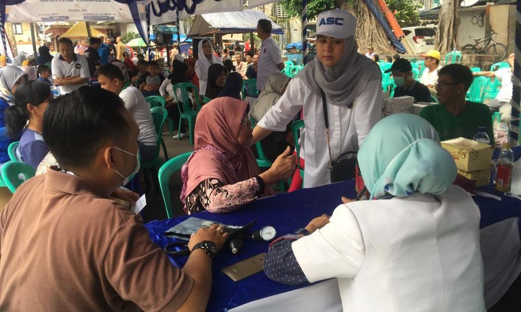 ASC Gelar Pengobatan Gratis di Jakut dan Jakbar