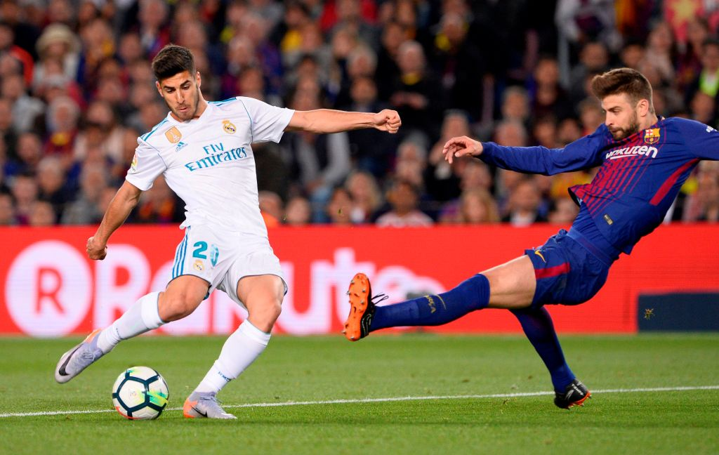 Susunan Pemain Barcelona vs Madrid